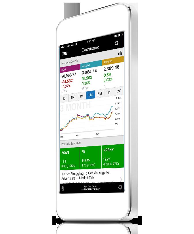 E*TRADE mobile app - image