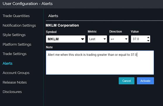 Image of alerts