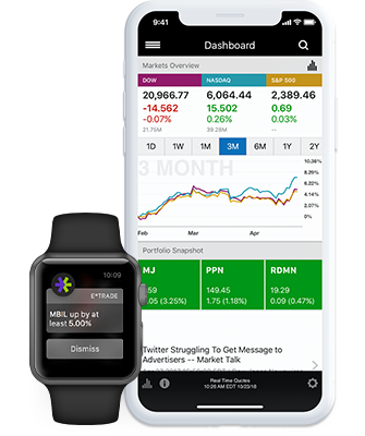 Mobile Platforms | Seize Opportunities Anytime, Anywhere | E*TRADE